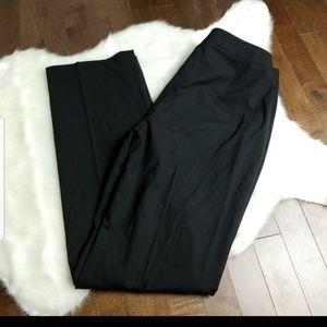 Lafayette 148 Barrow virgin wool black pants 6